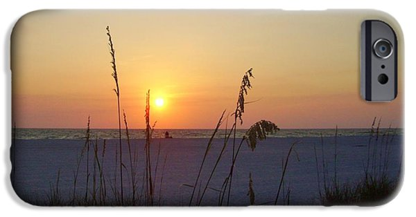 United States iPhone Cases - A Florida Sunset iPhone Case by Cynthia Guinn