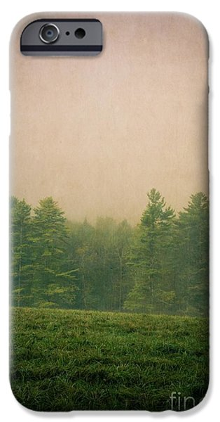 Foggy iPhone Cases - A Forest iPhone Case by Edward Fielding