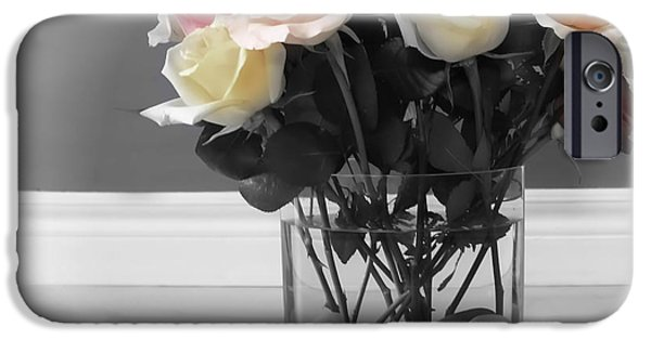 Floral Photographs iPhone Cases - A Foundation of Love iPhone Case by Cathy  Beharriell
