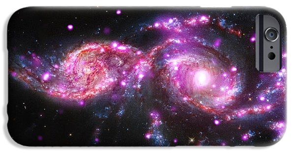 Merging iPhone Cases - A Galactic Get-Together iPhone Case by Eric Glaser