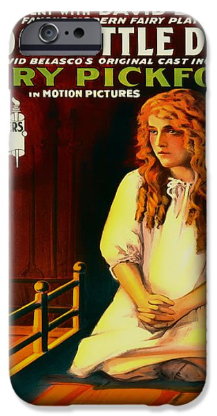 1910s Poster Art iPhone Cases - A Good Little Devil 1914 iPhone Case by Mountain Dreams