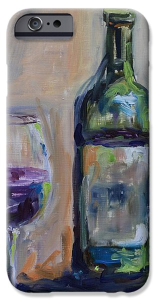 A Good Pour iPhone Case by Donna Tuten