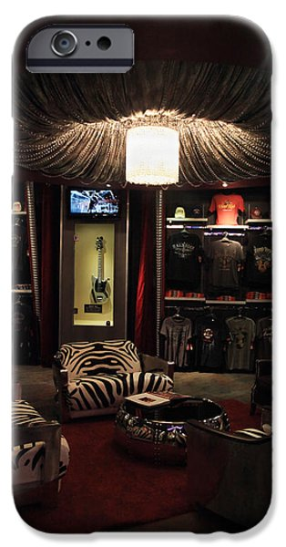 Merchandise iPhone Cases - A Hard Rock Life iPhone Case by Laurie Search