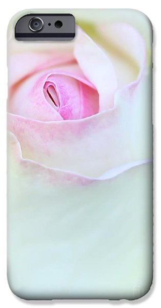 Suggestive Photographs iPhone Cases - A Hint of Pink iPhone Case by Sabrina L Ryan