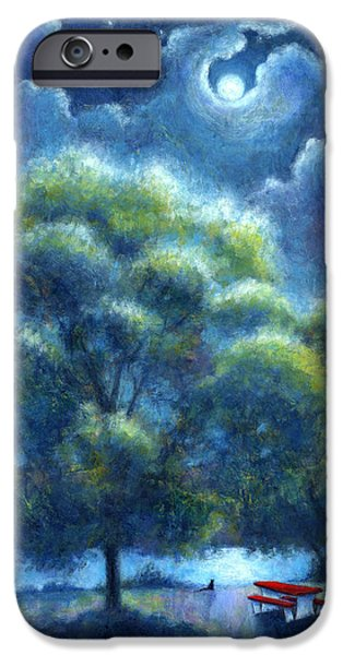 Virtual Paintings iPhone Cases - A Hope and a Future iPhone Case by Retta Stephenson