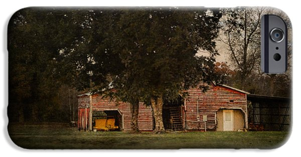 Tennessee Barn iPhone Cases - A House Or A Barn iPhone Case by Jai Johnson