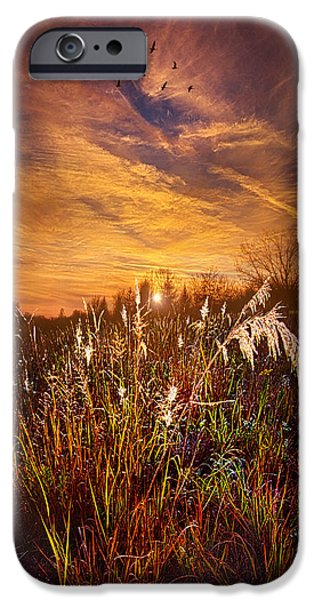 Outdoors iPhone Cases - A Journey Through Time iPhone Case by Phil Koch
