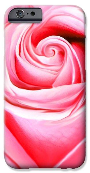 Painter Photographs iPhone Cases - A Joyful Heart iPhone Case by  The Art Of Marilyn Ridoutt-Greene