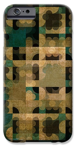 Modern Abstract Digital Art Digital Art Digital Art iPhone Cases - A Life Well Lived iPhone Case by Bonnie Bruno