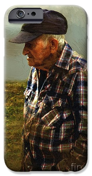 A Lifetime in the Fields iPhone Case by RC DeWinter