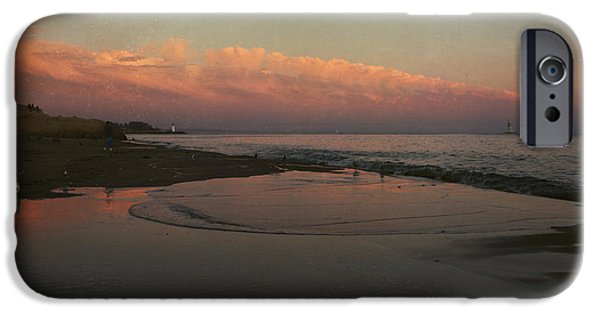 Santa Cruz Ca iPhone Cases - A Little Bit of Peace iPhone Case by Laurie Search