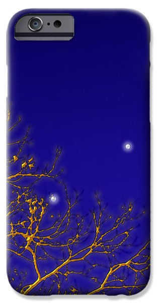 A Little Night Magic iPhone Case by Wendy J St Christopher