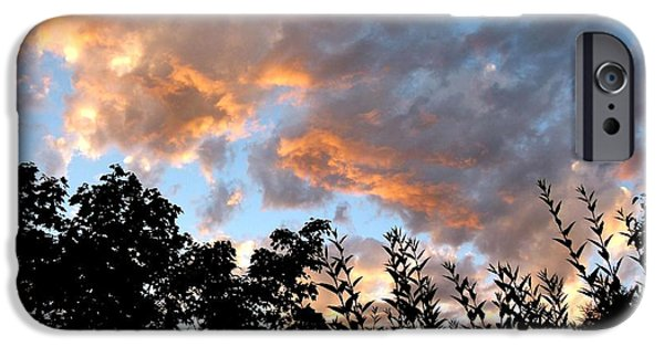 A Summer Evening iPhone Cases - A Memorable Sky iPhone Case by Will Borden