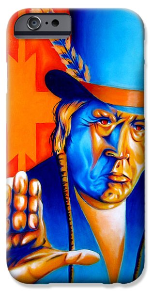 Airbrush iPhone Cases - A Message iPhone Case by Robert Martinez