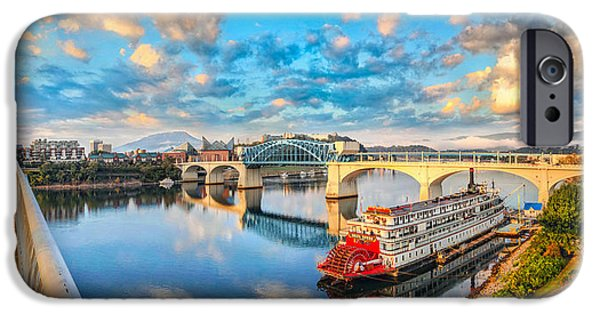 Recently Sold -  - River iPhone Cases - A Morning View iPhone Case by Steven Llorca