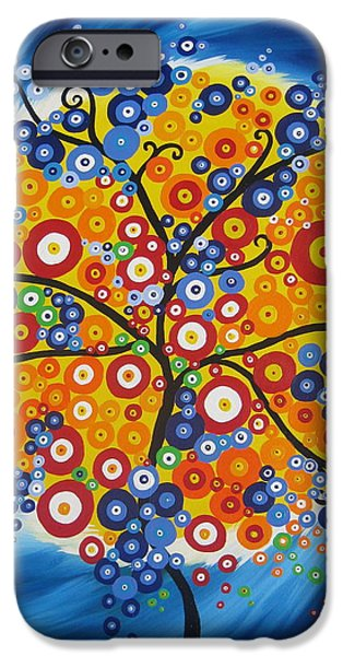 Living With Joy iPhone Cases - A New Brazil iPhone Case by Cathy Jacobs
