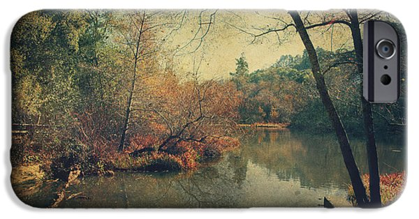 Winter Scenery iPhone Cases - A New Day Another Chance iPhone Case by Laurie Search