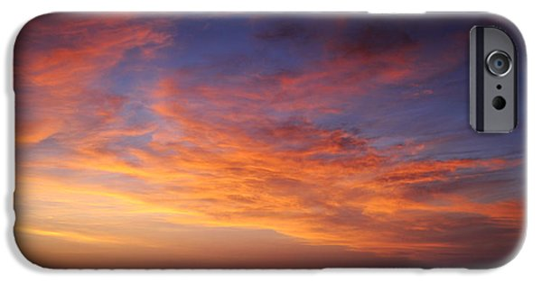 Beach Landscape iPhone Cases - A New Day iPhone Case by Carol Eade