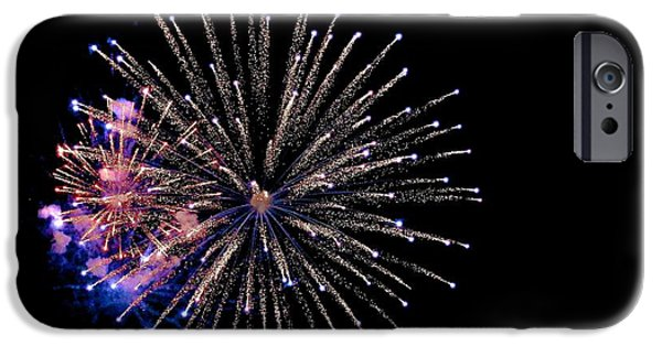 Fourth Of July Mixed Media iPhone Cases - A New Heaven iPhone Case by Chas Burnam