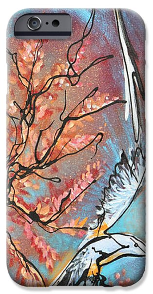 Soaring Paintings iPhone Cases - A Pair of Scissors  iPhone Case by Jonelle T McCoy