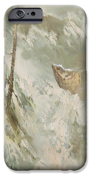 A Perfect Storm iPhone Case by Judy Paleologos