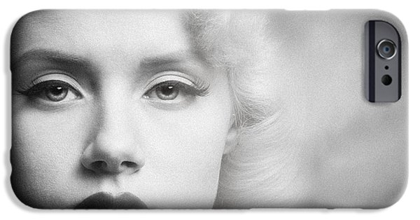 Character Portraits Photographs iPhone Cases - a place in time Mosh iPhone Case by Gary Heller