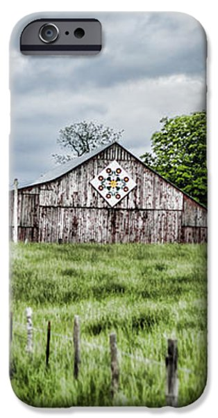 A Quilted Barn iPhone Case by Heather Applegate