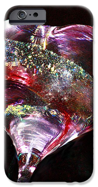 Rare Moments iPhone Cases - A Rainbows Heart iPhone Case by  The Art Of Marilyn Ridoutt-Greene