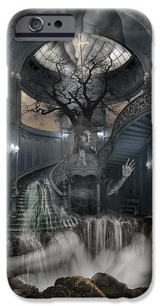 A Room within my Mind iPhone Case by Keith Kapple