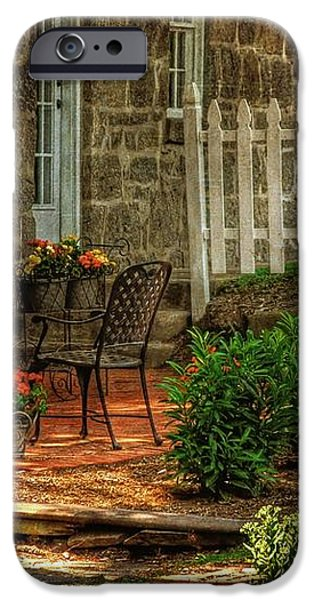 A Seat In The Shade iPhone Case by Lois Bryan