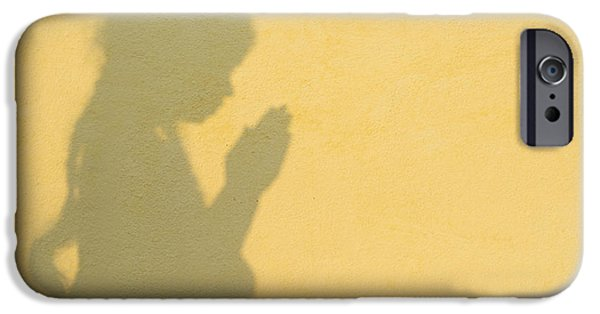 Innocence iPhone Cases - A Simple Prayer iPhone Case by Tim Gainey