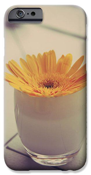 Tabletop iPhone Cases - A Simple Thing iPhone Case by Laurie Search