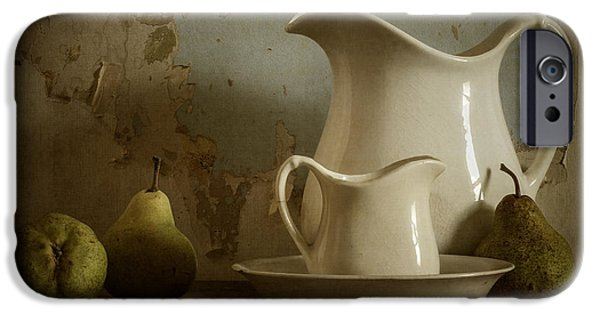 Pear iPhone Cases - A Simpler Time iPhone Case by Amy Weiss
