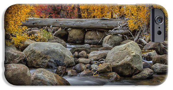 West Fork iPhone Cases - A Slow Turning iPhone Case by Mitch Shindelbower