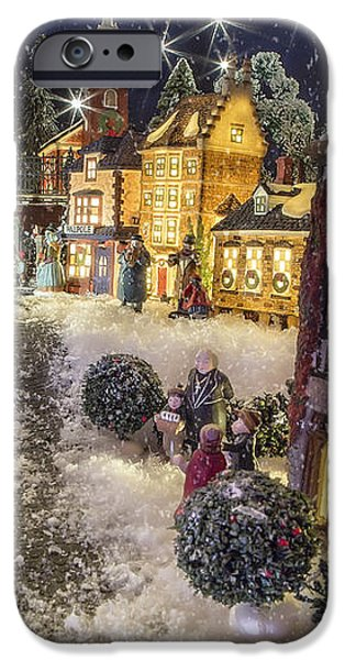 A Snowy Evening iPhone Case by Caitlyn  Grasso