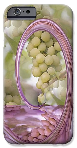 A SPLASH OF PURE GOODNESS iPhone Case by PainterArtist FIN