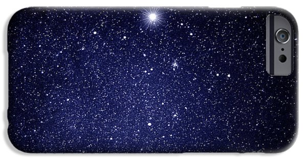 Guides iPhone Cases - A Star Appeared in the East... iPhone Case by Thomas R Fletcher