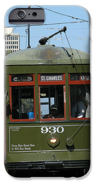 A Streetcar Named Something Else iPhone Case by Olivier Le Queinec