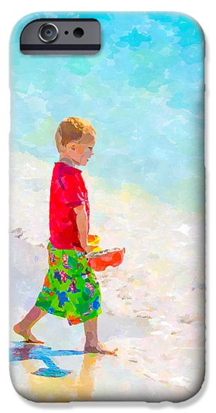 A Hot Summer Day iPhone Cases - A Summer To Remember III iPhone Case by Susan Molnar