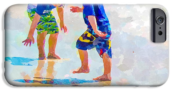 A Hot Summer Day iPhone Cases - A Summer to Remember IV iPhone Case by Susan Molnar