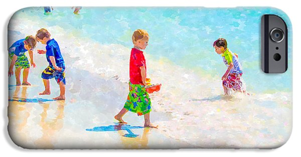 A Hot Summer Day iPhone Cases - A Summer To Remember iPhone Case by Susan Molnar