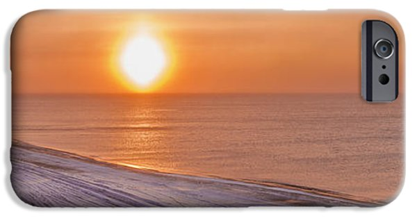 Reflections Of Sun In Water iPhone Cases - A Sundog Hangs In The Air Over The iPhone Case by Kevin Smith