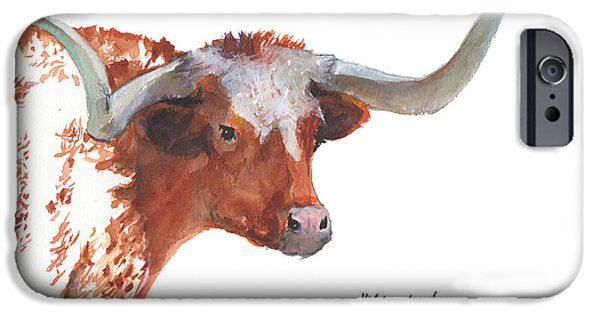 """texas Artist"" iPhone Cases - A Texas Treasure iPhone Case by Kathleen McElwaine"