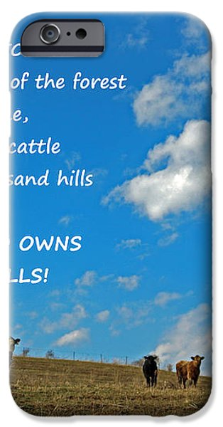 A Thousand Hills iPhone Case by Lorna Rogers Photography