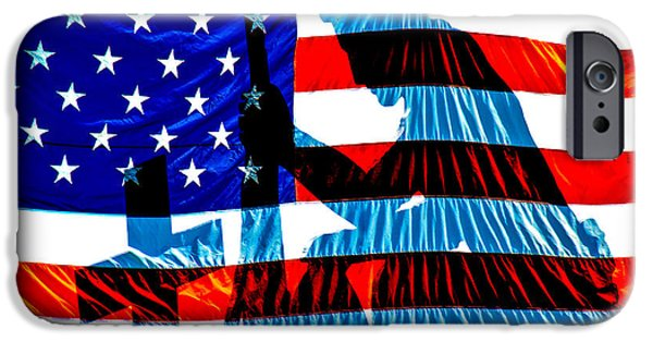 Patriotic Photographs iPhone Cases - A Time To Remember iPhone Case by Bob Orsillo