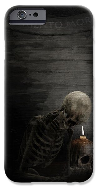 Tomb iPhone Cases - A Time To Remember iPhone Case by Lourry Legarde