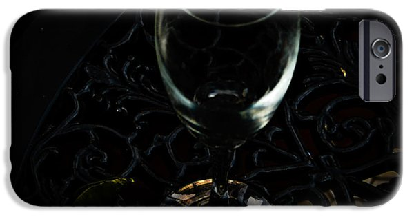 Table Wine iPhone Cases - A Toast to New Beginnings iPhone Case by Keisha Marshall