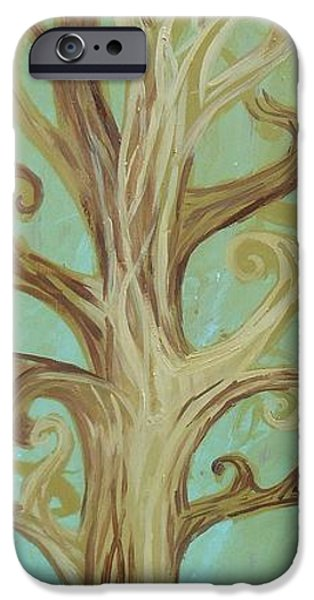 Nature Abstracts iPhone Cases - A Tree In Paris iPhone Case by Genevieve Esson