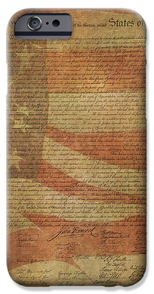 A Tribute To Our Forefathers iPhone Case by HH Photography