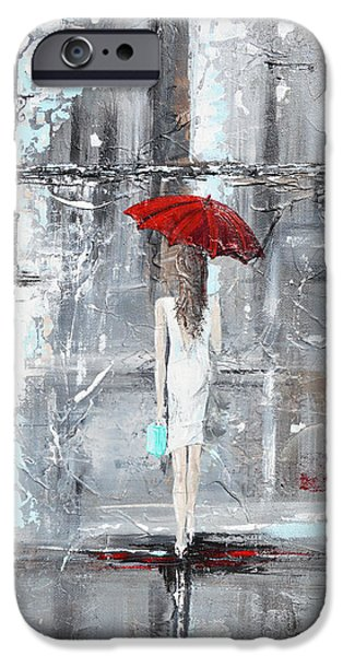 Best Sellers -  - Rainy Day iPhone Cases - A Trip to Tiffanys iPhone Case by Christine Krainock